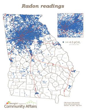 Portland Radon Map Large With Us Postal Zip Code Oregon Zipcode